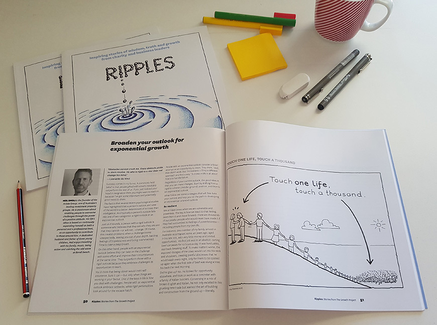 Ripples - book illustrated by Guy Downes